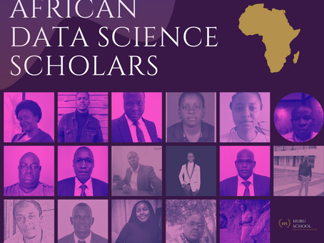 HURU School Data Science African Scholars for January 2021