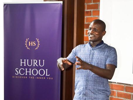 Kenya's Leading Data Scientist - Chris Orwa speaks at HURU School