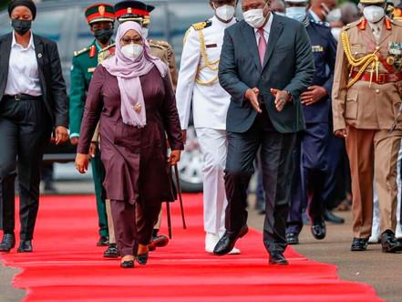 Kenya welcomes Swahili speaking President Samia Suluhu