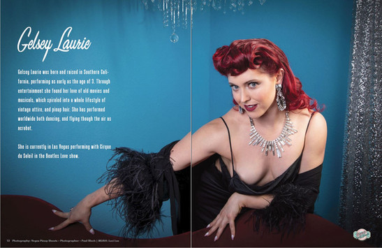 Gelsey Retro Lovely Magazine Spread