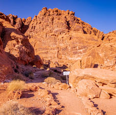 Valley of Fire Wedding Area