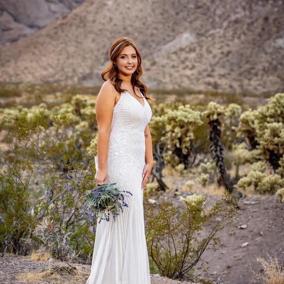 El Dorado Gold Mine Bridal portrait