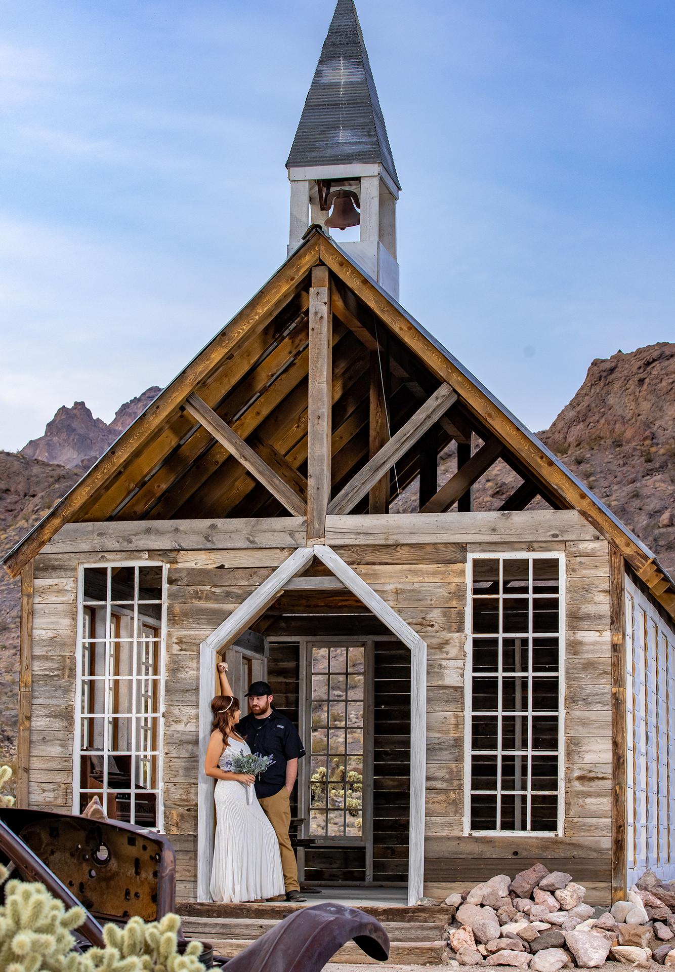 El Dorado Gold Mine Chapel