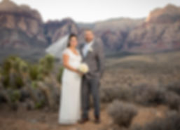 REd Rock wedding by Paul's Vegas Photogr