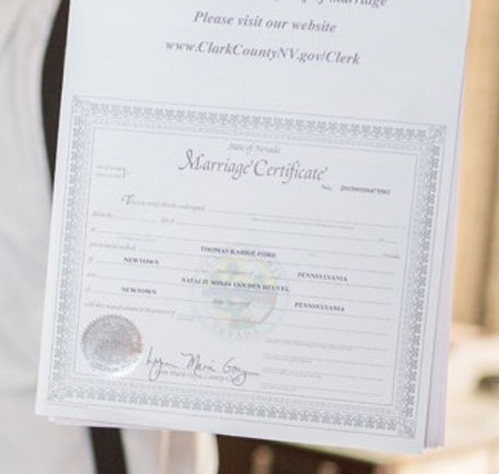 Sign and Go Wedding