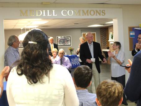 Dedication of Medill Commons