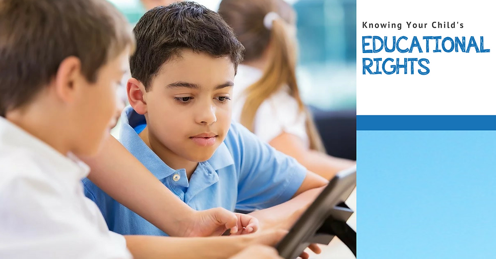 Knowing Your Child's Educational Rights