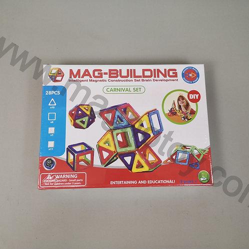 Магнитный конструктор Mag-building 28 элементов