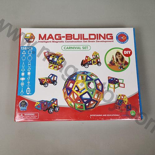 Магнитный конструктор Mag-building 138 элементов