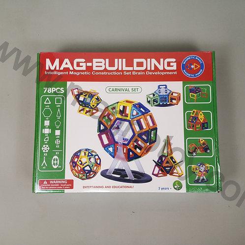 Магнитный конструктор Mag-building 78 элементов