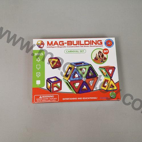 Магнитный конструктор Mag-building 20 элементов