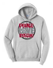 Peace Love & Rescue Hoodie