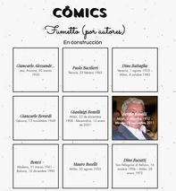 Guía de autores de cómic italiano