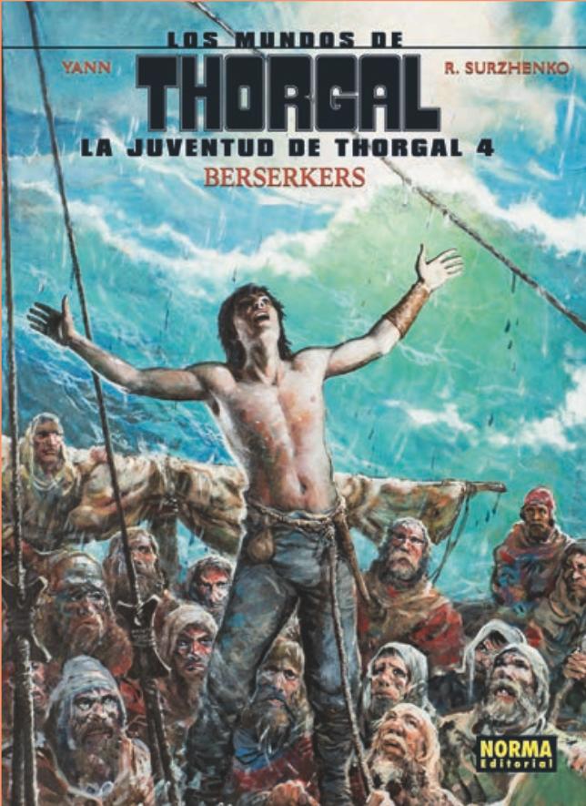 La juventud de Thorgal 4