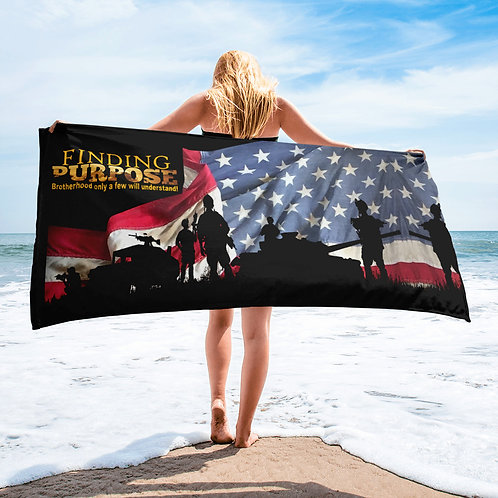 Finding Purpose Beach Towel