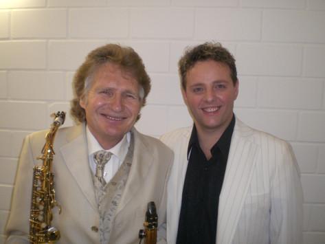 Graziano mit Henry Arland