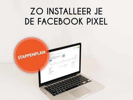 Stappenplan: zo installeer je de Facebook pixel