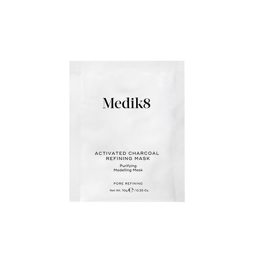 Activated charcoal refining mask | Medik8