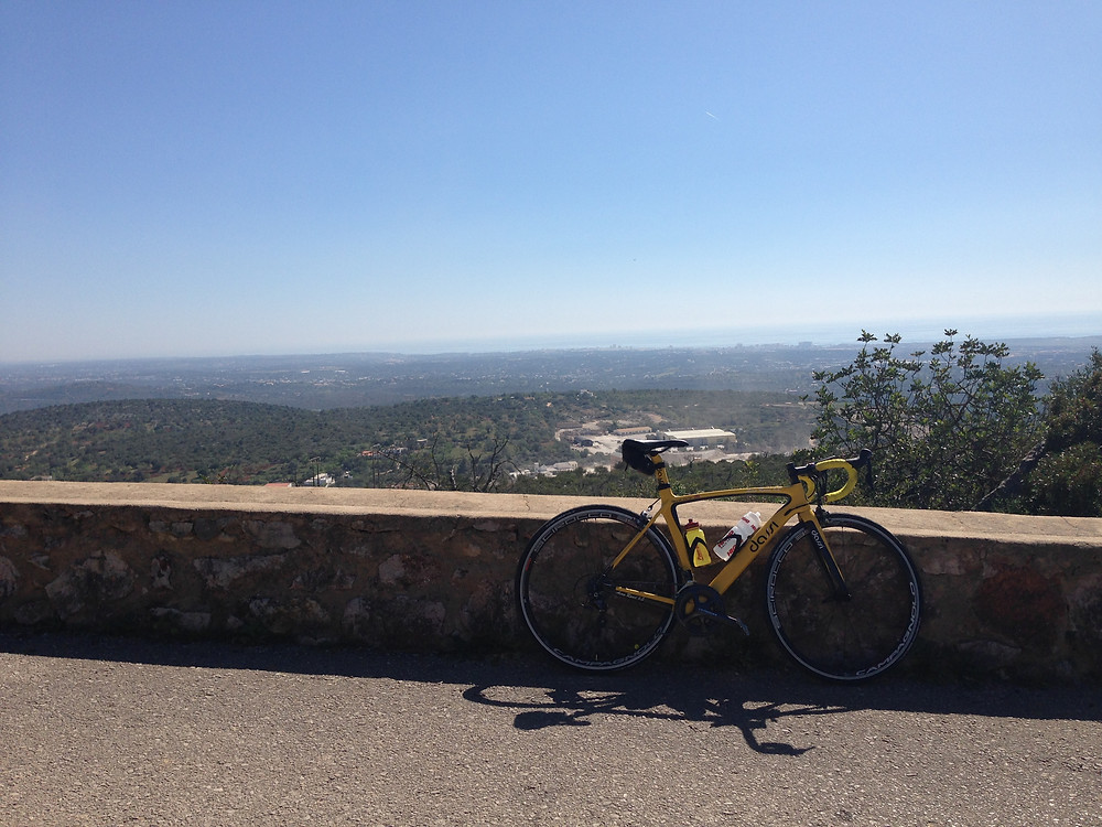 View from the top of hill reps
