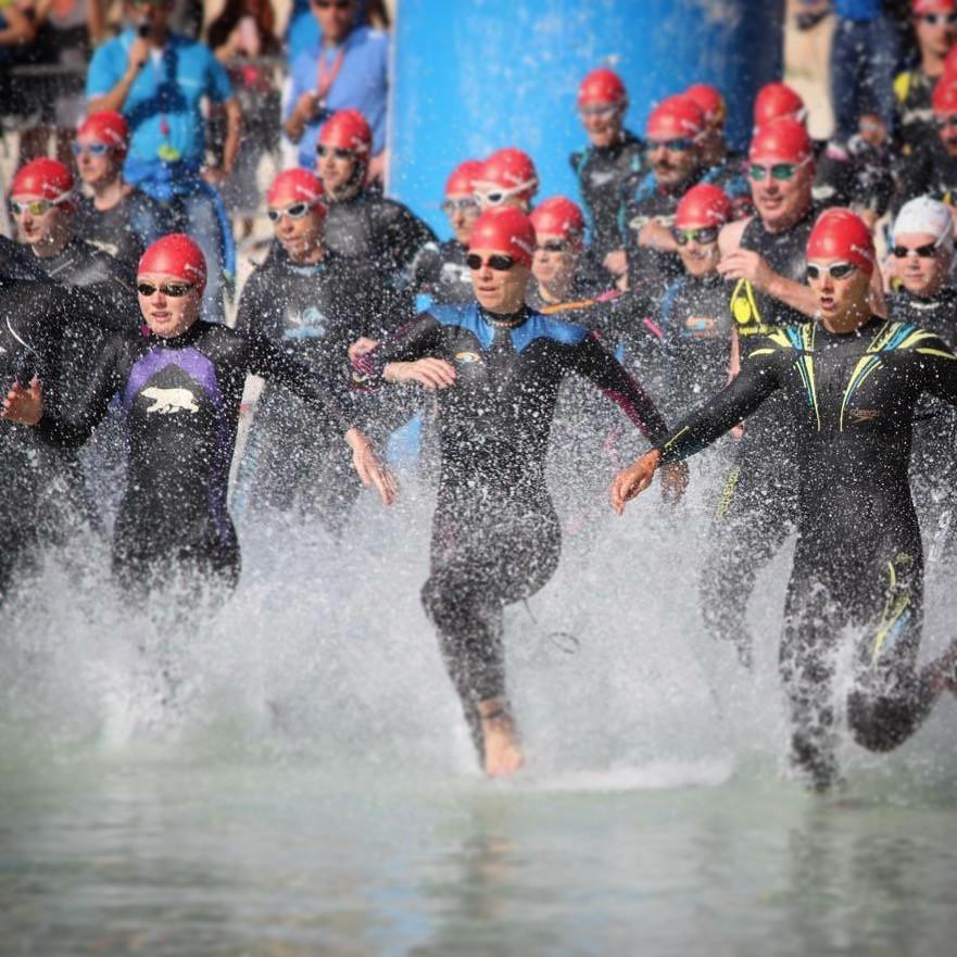 Mallorca Tri swim start