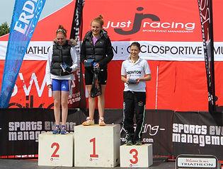 Hannah Kitchen - Grendon Sprint Triathlon 2013, ETU European Championship Qualifier
