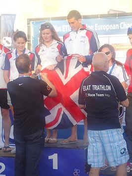 Hannah Kitchen - 2012 Eilat European Triathlon Championships