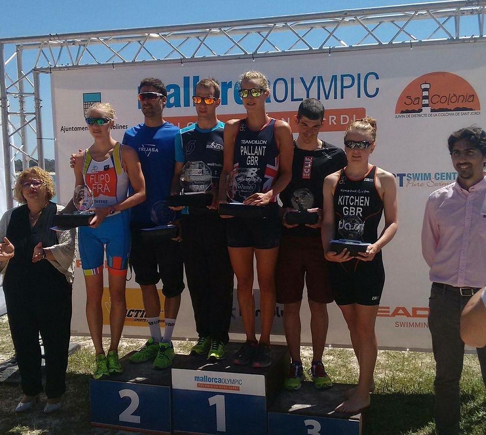 Mallorca Tri podium