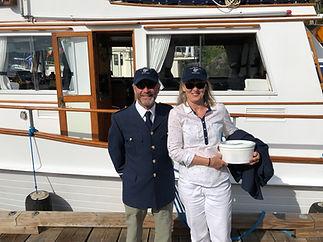 Jackie & John at Sailpast
