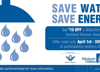 Save Water. Save Energy.