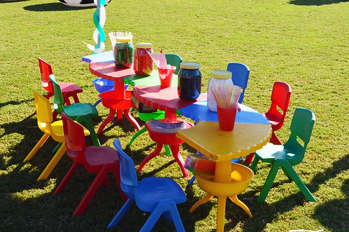 Activity Table with 10 chairs