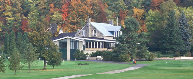 Exterior painting house on golf course