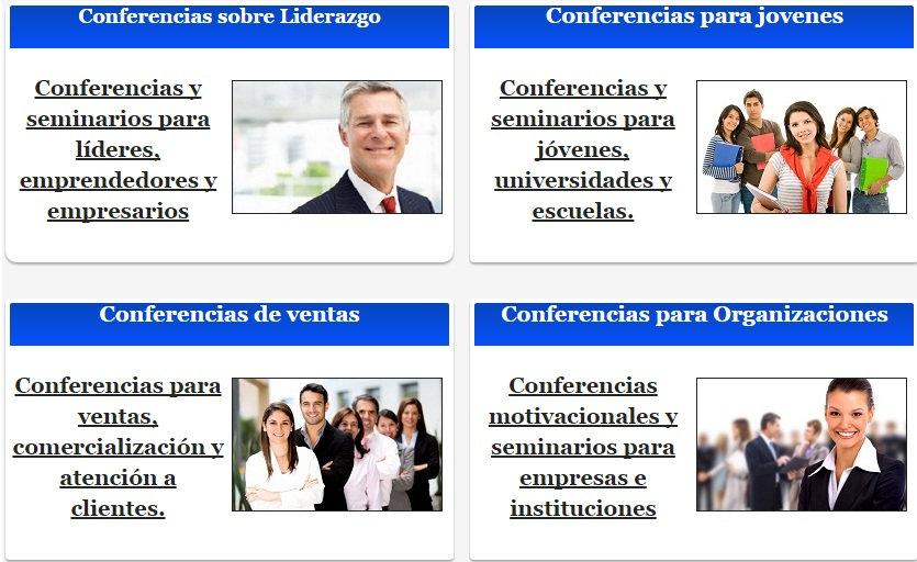 Catalogo De Conferencias Coach