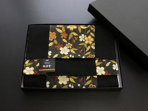 和風金襴織テーブルランナー 桜 150×30cm