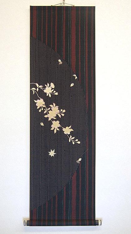 色紙掛軸 桜2