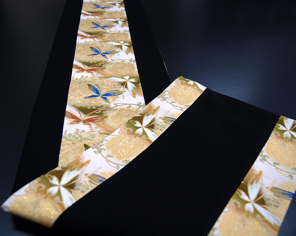 神泉堂和風テーブルランナー 蝶