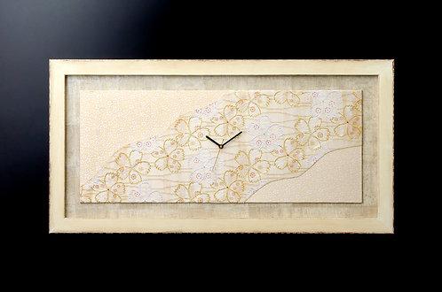金襴織掛時計 よしの桜