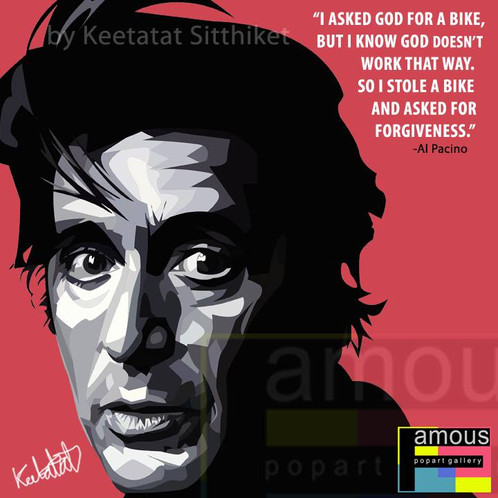 Al Pacino Pop Art