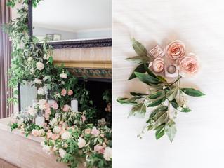 ROMANTIC, PEONY AND GARDEN ROSE WEDDING AT HOTEL SORRENTO