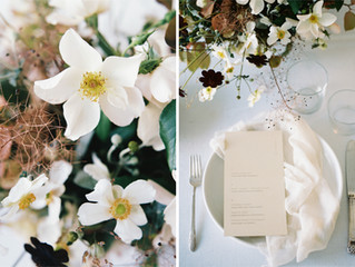 MODERN, TEXTURAL, ROMANTIC WEDDING INSPIRATION