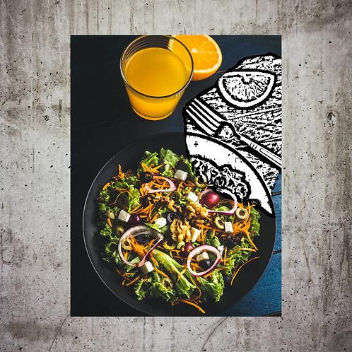 Salad Drawn