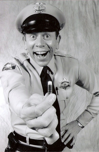 "David Browning as the ""Mayberry Deputy"""