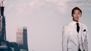 """「プロサッカー選手」と「経営者」の二面性とテクノロジーの世界 """"その先へ""""進み続ける本田圭佑"""