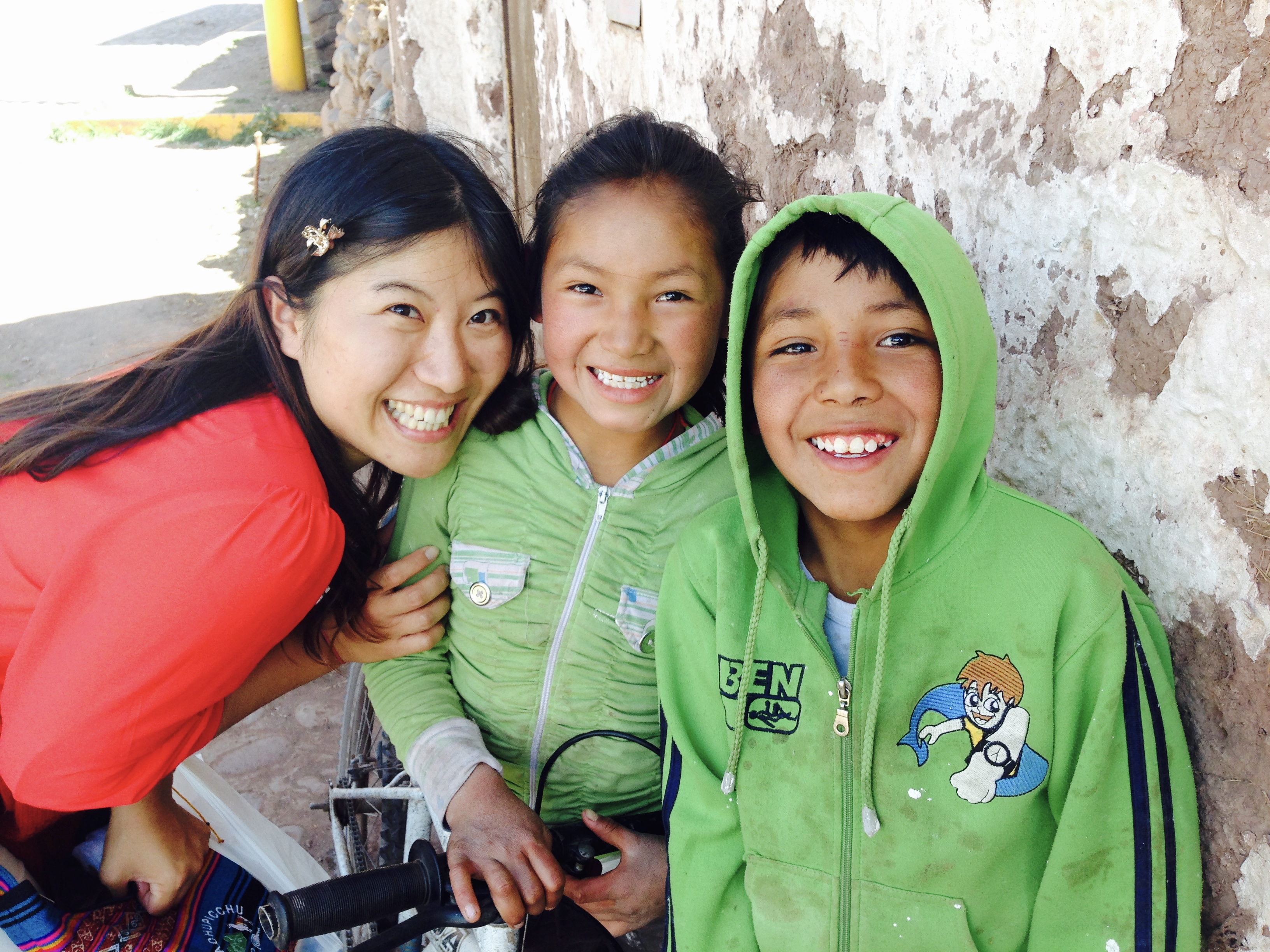 Peru with smile kids