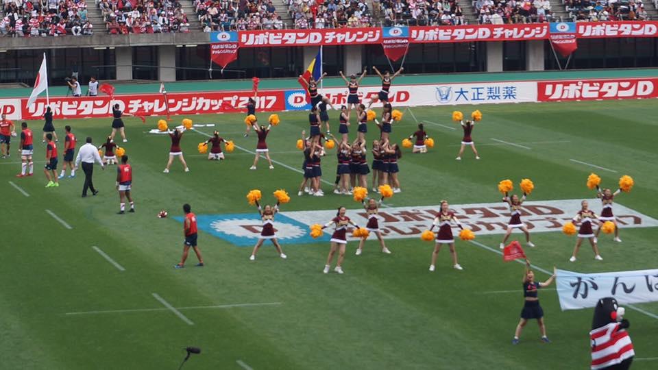 2017年熊本県復興応援ラグビーWカップ国際テストマッチ