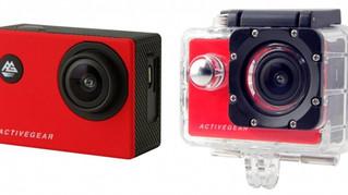 防水ケース・自撮り棒付きで低価格を実現!臨場感あふれる写真&動画撮影が可能なアクティブギア フルHDカメラ