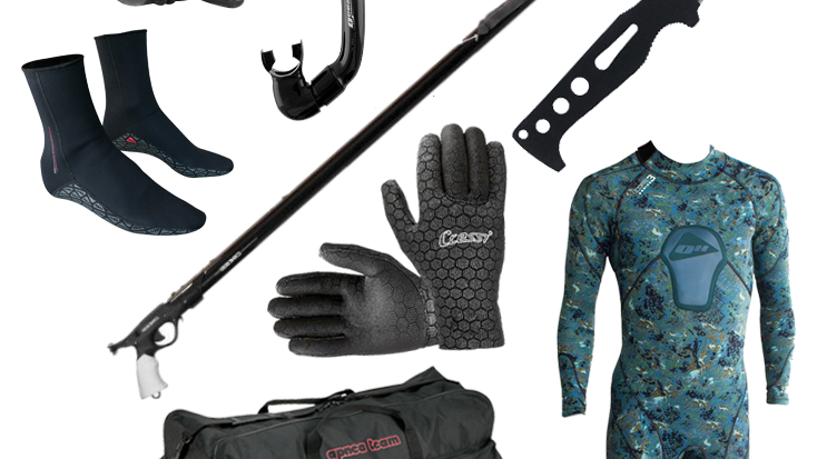 Spearfishing (complete set of equipment)