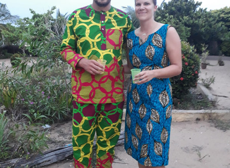 Hopeanuolella Beniniin