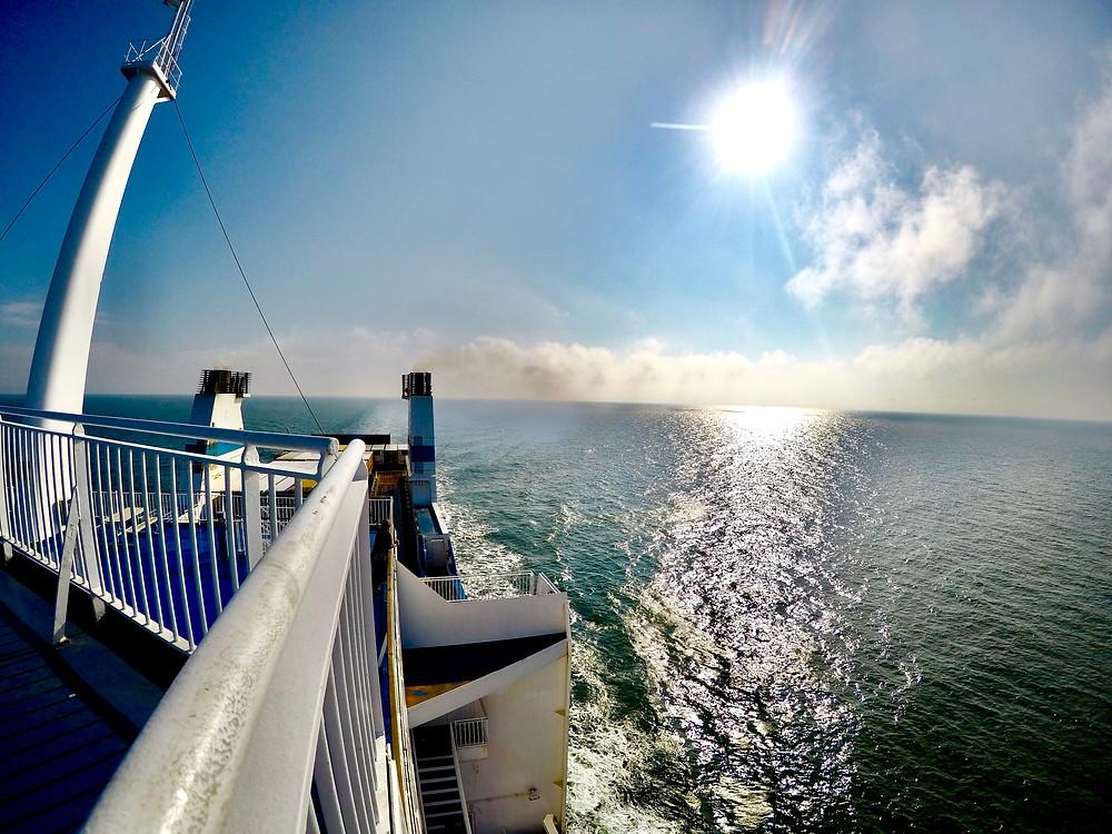 Merimaisema laivalta
