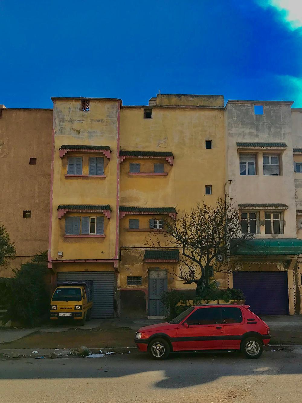 Marokon murretut värit
