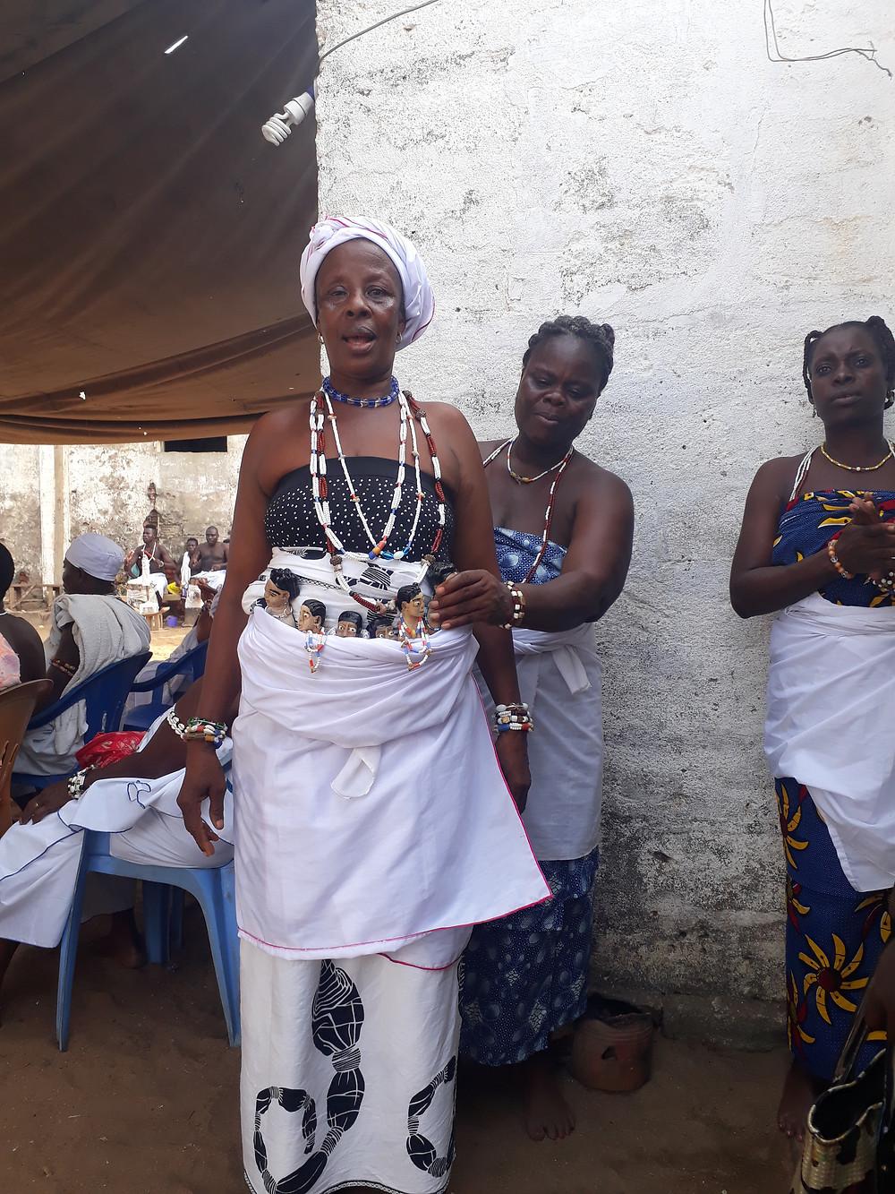 Mami Wata -seremoniassa